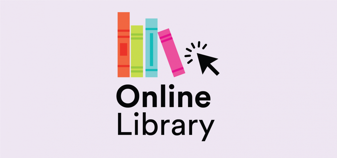 online library banner