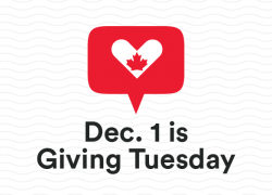 Dec. 1 is Giving Tuesday